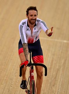 Bradley Wiggins wins Madison Gold WCT 2016  (Getty Images Sport)