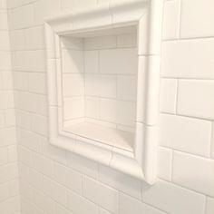 Kitchen paint colors with chair rail subway tiles 34 ideas Fixer Upper Paint Colors, Front Door Paint Colors, White Paint Colors, Kitchen Paint Colors, Interior Paint Colors, Shower Niche, Master Shower, Bathroom Niche, Master Bath