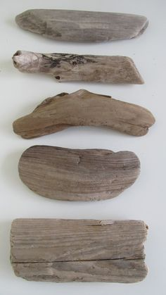 10 Flat & Paddle Shaped Driftwood Pieces Flattish Drift Wood DIY Wedding Table Numbers by LonelyBeach on Etsy