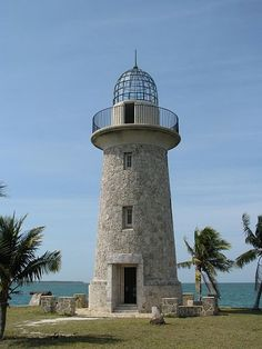 Stone tower resembling a lighthouse Biscayne National Park Florida Key Biscayne Florida, Biscayne National Park, Indiana Dunes, Kenai Fjords, Mangrove Forest, Fishing Guide, Fishing Charters, Beautiful Beaches, State Parks