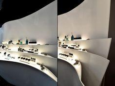 Erno Laszlo luxury boutique by FAK3, Hong Kong #varejo #retail #luxo #luxury #boutique #store #loja