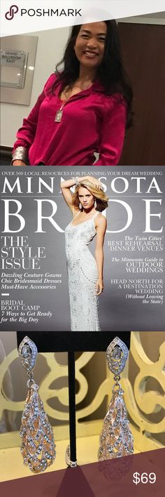 Hi shoppers I am Ana Pomme from Minnesota My name Ana Pomme Am very stylish and fashionable am a designer bridal jewelry and I  love sharing to my closet and my  style if you love unique fashion jewelry see my closet in the future every design glamorous and Hollywood  style and my design in the cover Minnesota brides magazine and  as seen in spring and summer 2014 hope you love and shopping my fashion jewelry design ..💕💕 ipombridal Jewelry Earrings