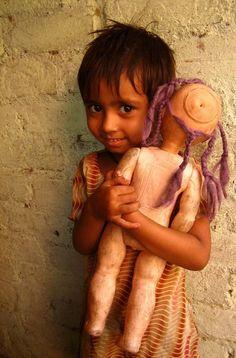 Children of Indian slums
