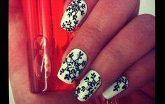 RajskieSpa: Świąteczne zdobienia paznokci-inspiracje