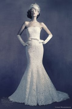 lovely gown. Lucas Mandongus 2012