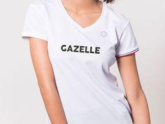 Gazelle - Coureur Du Dimanche - Tee-shirt technique de sport - Made in France