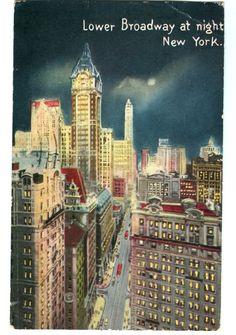 vintage New York postcard