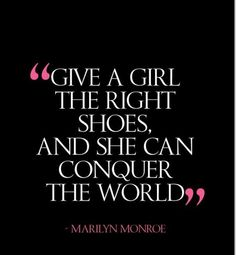 Shoes DO make a difference.