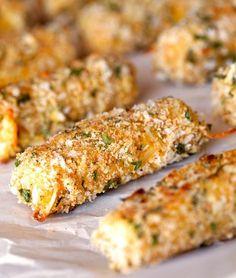 Palitos de mozzarella al horno                                                                                                                                                                                 Más