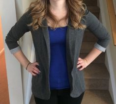 Stitch Fix stylist - love this blazer! I've never really worn one but I think they'd be great for teaching.