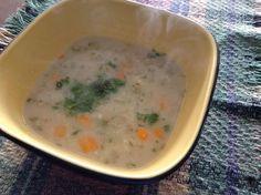 Receita de Sopa de aveia e legumes