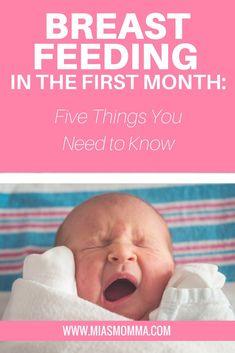 Breast Feeding | Newborn | Fourth Trimester