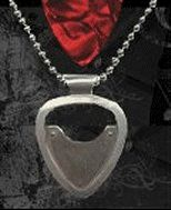 Silver Guitar Pick Holder Pendant :: PickBay.com -- This is my number one pick for guitar gifts!! - $99.00
