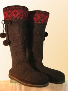Felted Boot Kit.