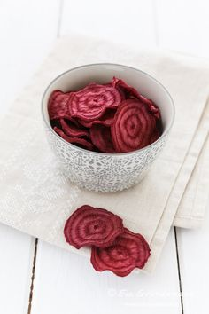 Beetroot Chips | Rote Bete Chips