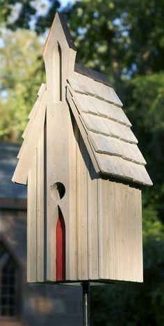Bird Houses - Garden All Aglow!
