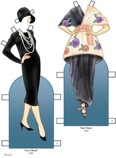 Welcome to Dover Publications - Avant Garde Fashions Paper Dolls