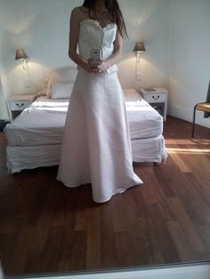 Somptueuse robe de mariée PRONUPTIA en satin duchesse