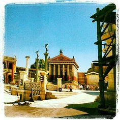Cinecittà Studios - set Rome HBO
