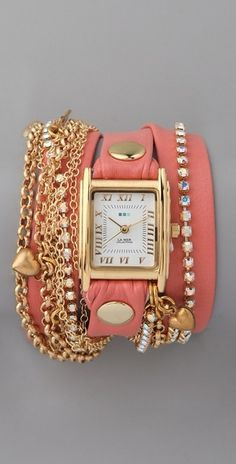 Crystal Wrap Watch