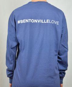 #BentonvilleLove #bentonville #bentonvilleAR #comfortcolors