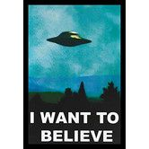Found it at Wayfair - 'I Want to Believe - the X-Files' Framed Graphic Art #buyartforless