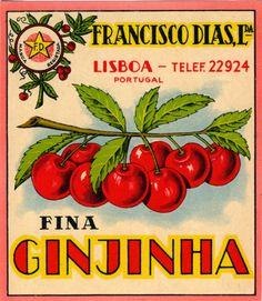 cartazes ginginha - Pesquisa Google