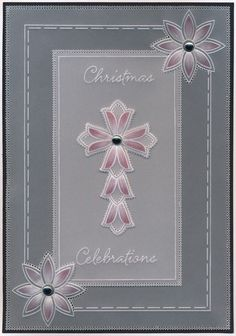 Parchment Cards, Hobbies And Crafts, Art Nouveau, Christmas Cards, Stamp, Pattern, Handmade, Clarity, Plates