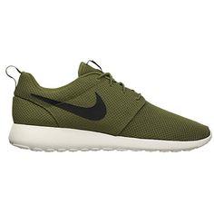 fe3f57dd29f8 iguana nike roshe run Olive Green Nike