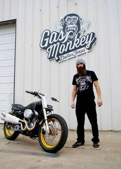 fast die last :: t shirts Harley Davidson Sportster given the Street Tracker treatment by Gas Monkey GarageHarley Davidson Sportster given the Street Tracker treatment by Gas Monkey Garage Custom Sportster, Custom Motorcycles, Custom Bikes, Hd Sportster, Bmw Motorcycles, Fast And Loud, Gas Monkey Garage, Harley Davidson Street Glide, Harley Davidson Bikes