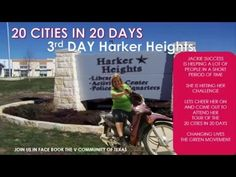20 CITIES IN 20 DAYS-CHALLENGE-3RD DAY CITY OF HARKER HEIGHTS