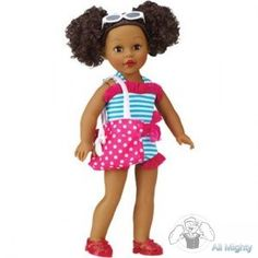 Brand New 18' My Life As Beach Vacationer African American By Madame Alexander