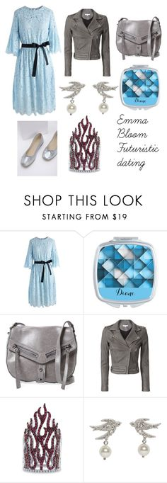 """""""Mphfpc - Emma Bloom: futuristic dating"""" by theultimatefashionlover on Polyvore featuring mode, Chicwish, Botkier, IRO, BERRICLE, Miu Miu en Mint Velvet"""