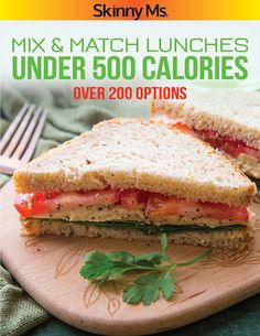 Quick and Easy recipes to get  through the busy week with lists outlining exactly what's needed to shop. Mix & Match Lunches Under 500 Calories offers a tasty VARIETY and SAVES TIMES. #lunchideas