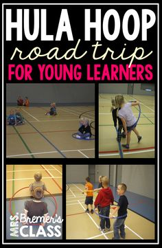 Hula Hoop Car Road Trip- a great PE activity! Standard The physically literate individual demonstrates knowledge of concepts, principles, strategies and tactics related to movement and performance. Gym Games For Kids, Video Games For Kids, Yoga For Kids, Exercise For Kids, Kid Yoga, Pe Games Elementary, Elementary Physical Education, Health And Physical Education, Elementary Schools