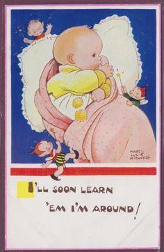 BABY WITH FAIRIES BOO BOOs
