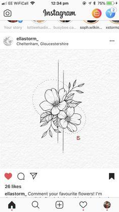 Wundersch nes florales Tattoo von Ella Ella florales tattoo Brenda O Wundersch nes florales Tattoo von Ella Ella florales tattoo Brenda O Angelina angelinaxix tattoos nbsp hellip tattoo arm Forearm Tattoos, Finger Tattoos, Body Art Tattoos, New Tattoos, Small Tattoos, Cool Tattoos, Tattoo Arm, Tatoos, Lotus Tattoo