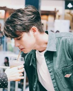 Korean Men Hairstyle, Song Wei Long, Today Is Friday, Bright Wallpaper, Kpop Hair, Bright Pictures, Dear Future Husband, Celebs, Celebrities