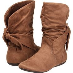 Fall boots. And these just might fit over part of my calf!