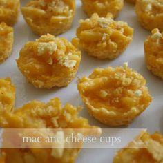Live A Little Wilder  - mac and cheese cups {recipe} - Great finger foods and toddler food!