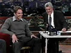 Paul on the Tonight Show with Jay Leno 2001