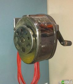School Pencil Sharpener. still have this kind in my garage...