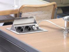 In unserem Onlineshop für Küchsteckdosen finden Sie eine große Auswahl an Steckdosen für Ihre Arbeitsplatten und Küchen | Jetzt bei Nordseeküchen.de