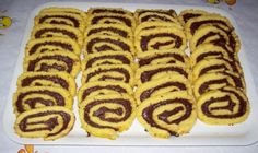 _140712194633 Nutella Recipes, Sweets Recipes, Candy Recipes, Cooking Recipes, Greek Desserts, Easy Desserts, Cupcake Cookies, Cupcakes, Hot Dog Buns