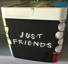 Fraternity Formal Cooler   Tags: Friends, beer pong, ping pong balls, solo cub, bow tie, corner