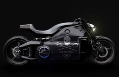 Voxan Electric Motorcycle Delivers 200 HP and 200 Nm Instant Torque - Voxan Electric Motorcycle is a radically look motorbike that draws its inspiration from the future to exist in the present. It's a powerful all electric bike with aluminum exoskeleton chassis that houses all components of the powertrain. | via tuvie.com