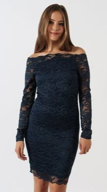 Pop into Pagani and grab this stunning Scalloped Lace Bardot Dress for a special occasion at only $69.99 and get another for 50% off. Also available in black and red