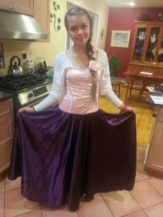 Diy adult rapunzel costume tangled my pins pinterest adult rapunzel from tangled costume diy all items purchased from amazon including 30 solutioingenieria Images