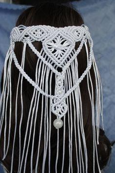 Macrame Headband, Boho Headband, Wedding Headband, The Wedding Date, Boho Wedding, Wedding Trends, Wedding Decor, Wedding Ideas, Cathedral Wedding Veils