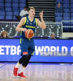 Luka Doncic of Slovenia in action during the FIBA Eurobasket 2017 Group A match between Iceland and Slovenia on September 5, 2017 in Helsinki, Finland.